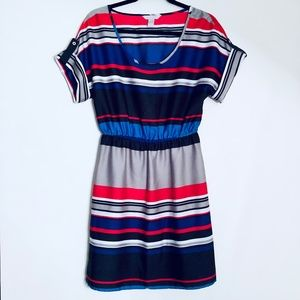 Banana Republic Factory | Striped Scoop Neck Dress